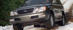 Тест-драйв внедорожника Lexus LX