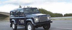 Электрическая версия внедорожника Defender Land Rover