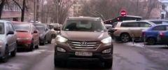 Тест Hyundai Santa Fe (видео)