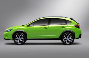 Subaru XV новая модель кроссовера 2012 года!