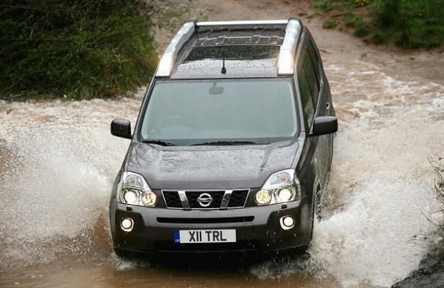 Nissan X-Trail покоритель бездорожья