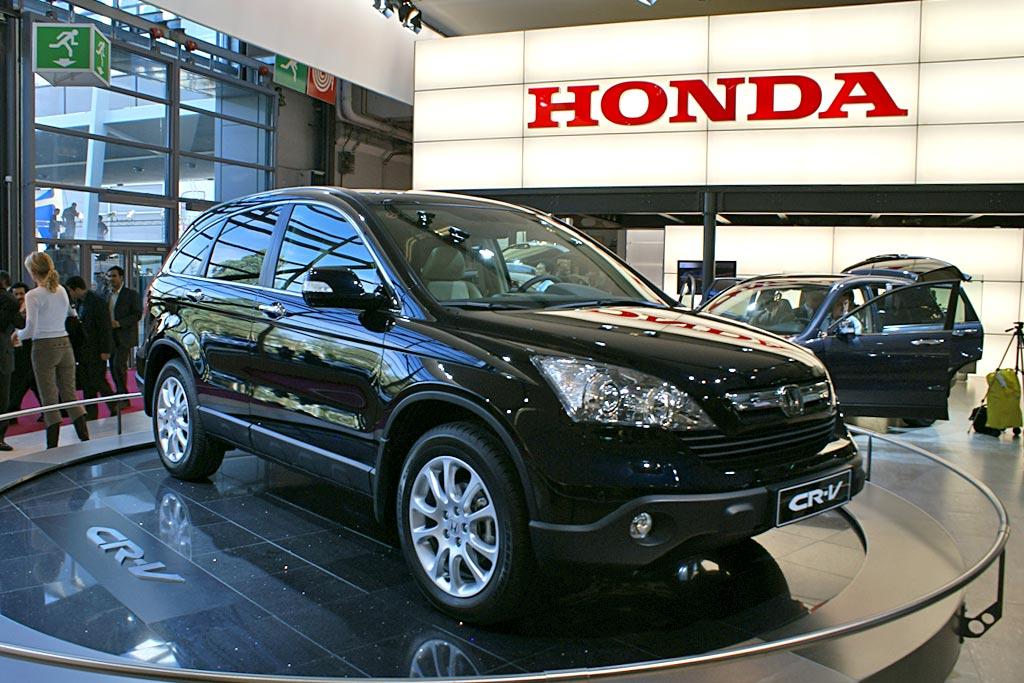 Новая Honda CR-V 2012