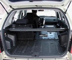 Вместительный багажник Tucson