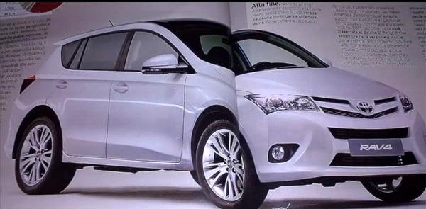 Новая Toyota RAV4 фото