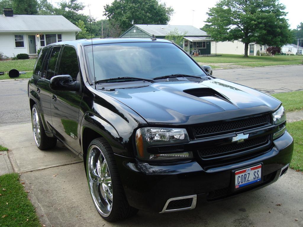 Chevrolet Trailblazer технические характеристики