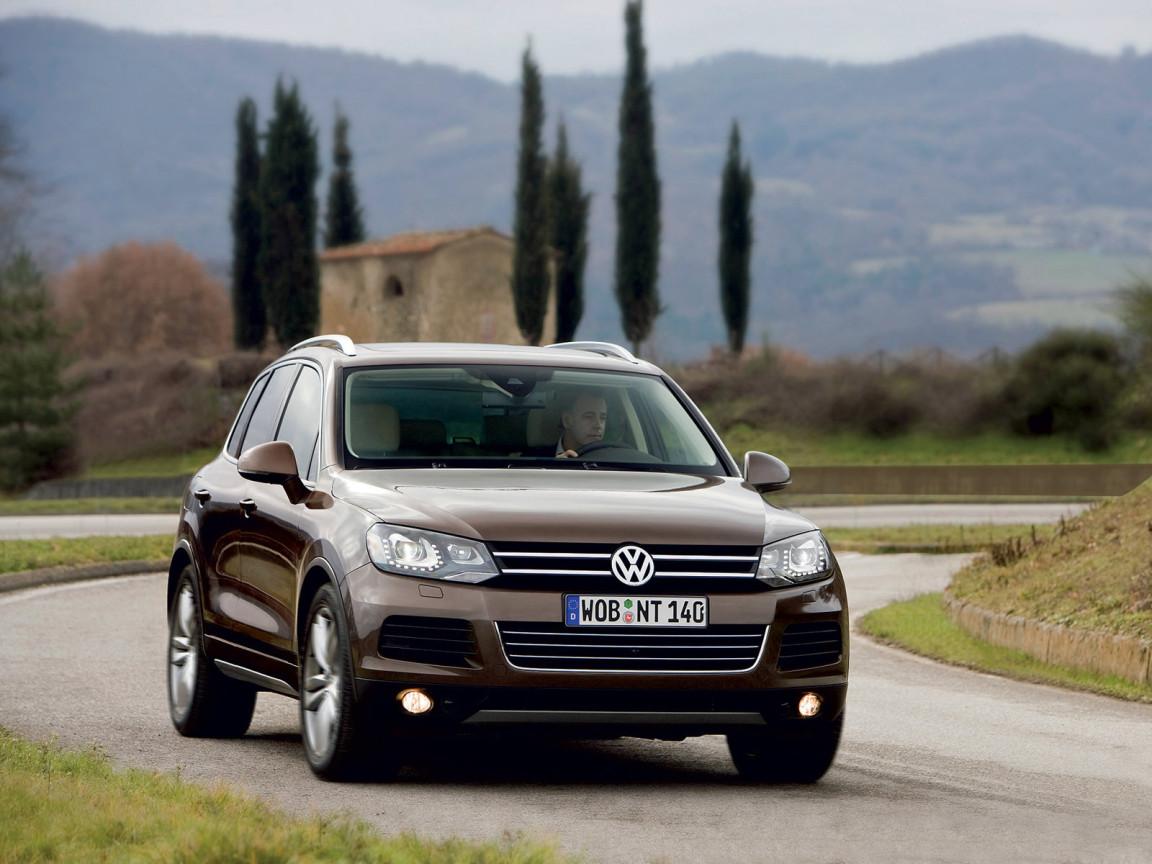 Обновленный Volkswagen Touareg - технические характеристики ...