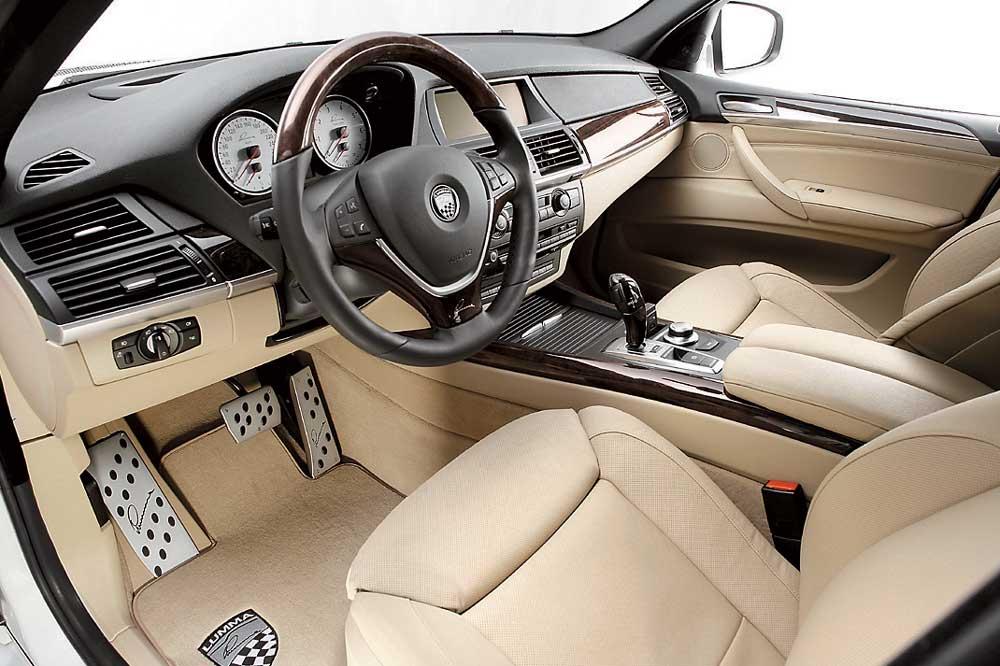 Шикарный салон BMW X5