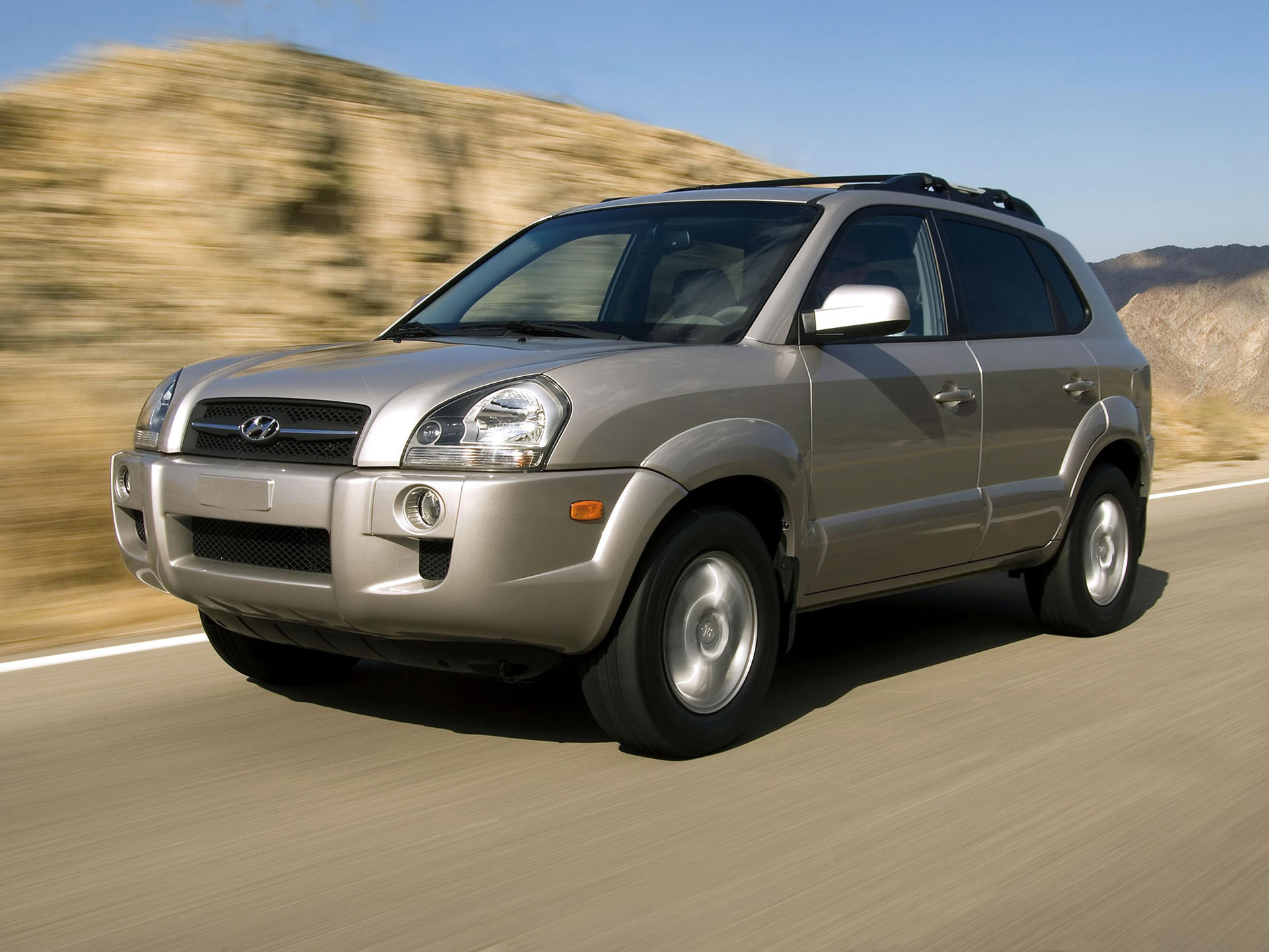 Hyundai Tucson - жажда скорости