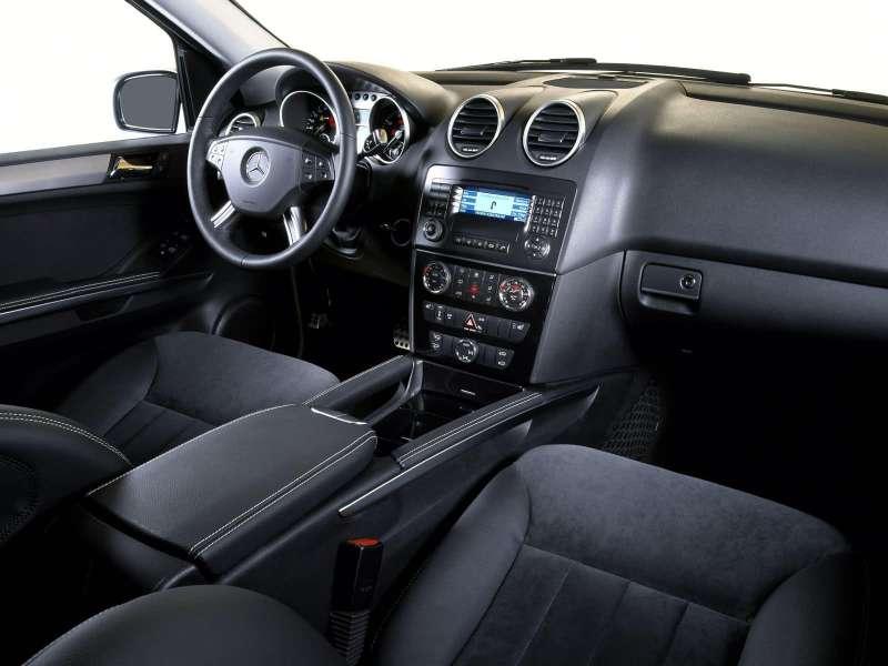 Mercedes-Benz ML350 салон