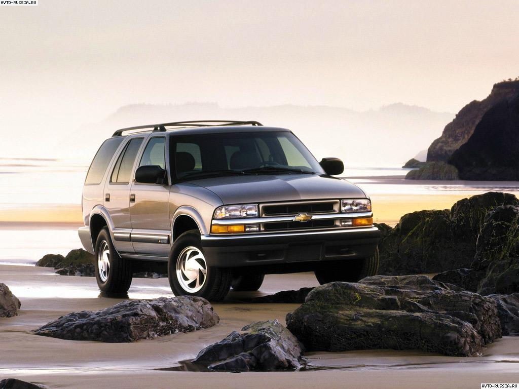 Chevrolet Blazer фото