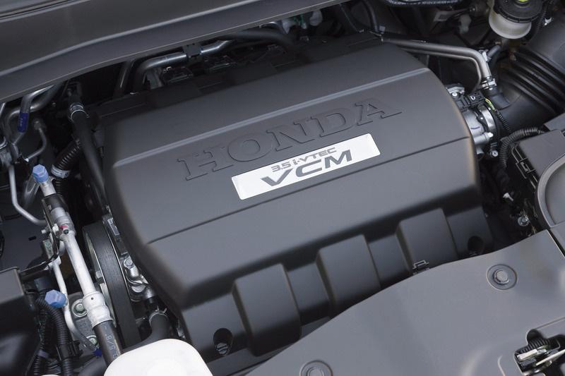 Двигатель у Honda Pilot 250 л.с