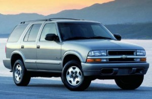 Chevrolet Blazer Шевроле Блейзер
