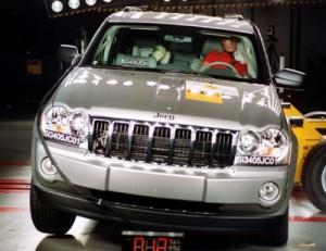 Jeep Grand Cherokee не справился с тестом