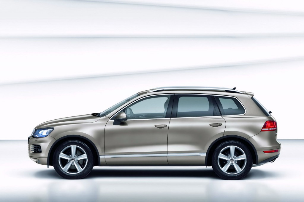 Новый Volkswagen Touareg фото