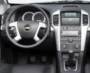 Chevrolet Captiva интерьер