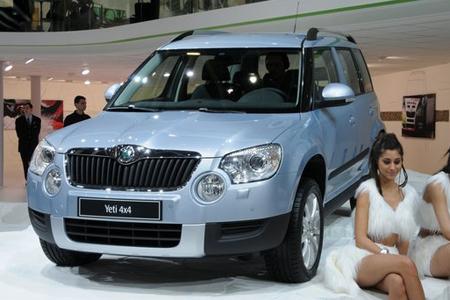 Skoda Yeti во время Geneva Motor Show