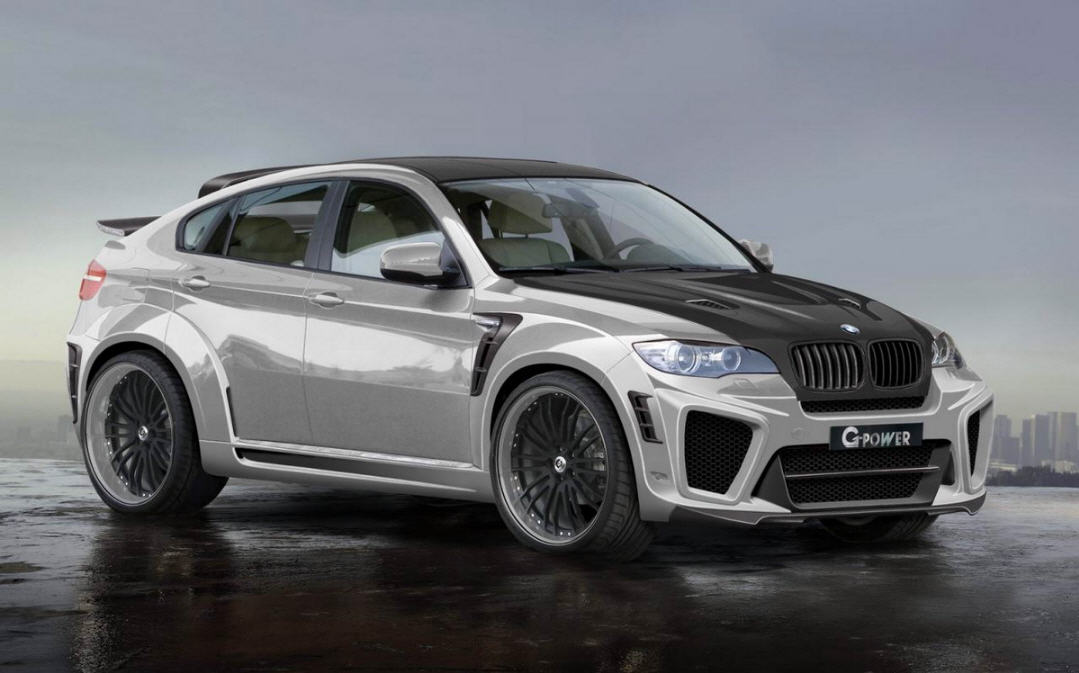 BMW X6 с названием TYPHOON RS Ultimate V10