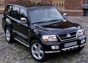 Дизельные внедорожники Mitsubishi