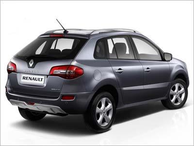 Новая Renault Koleos фото