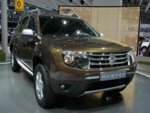 Новая модель внедорожников Renault Duster
