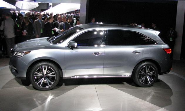 Экстерьер Acura MDX