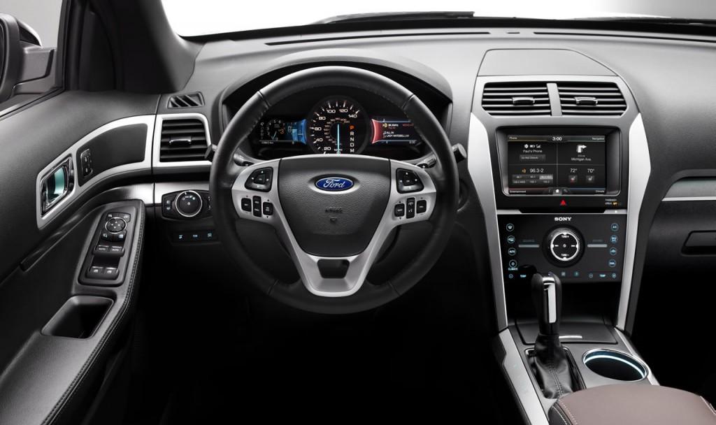 Салон  Ford Explorer