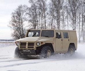 Российский внедорожник «Тигр»