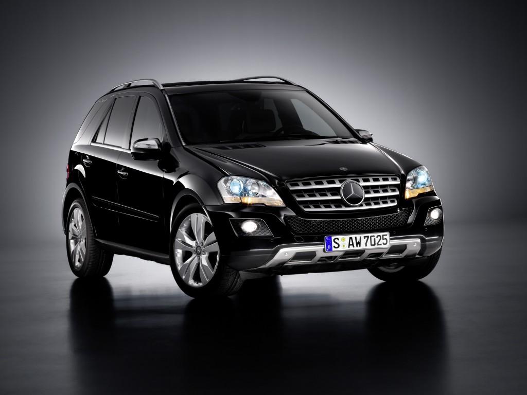 Новый стиль Mercedes ML