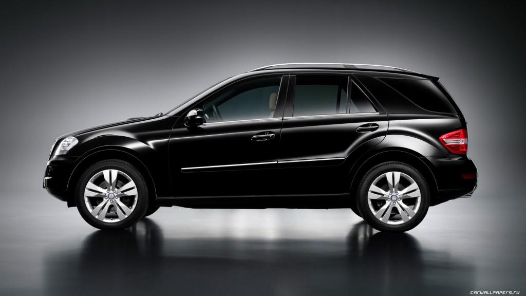 Новый стиль Mercedes-Benz ML