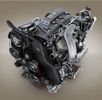 Дизельные двигатели внедорожников Toyota