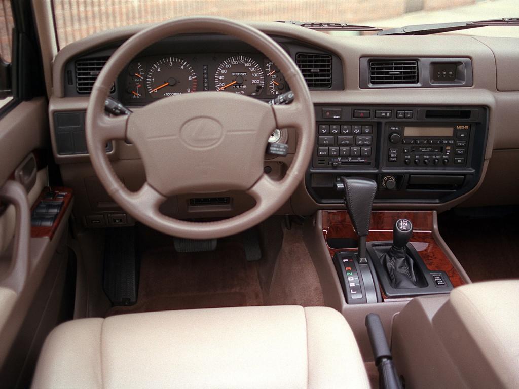 Салон Lexus LX 450