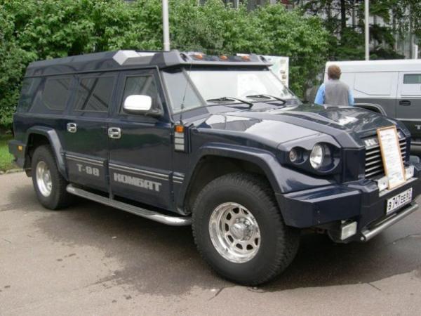 Комбат Т-98 - российский супер-внедорожник