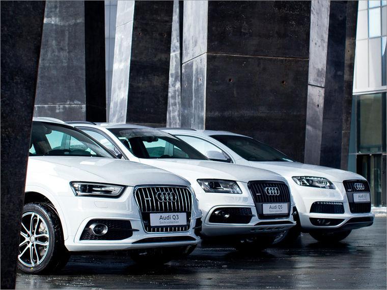 «Олимпийская» спецсерия кроссоверов от Audi
