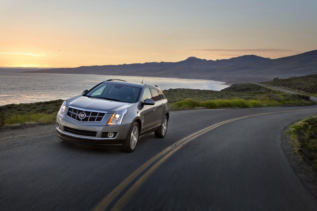 Cadillac SRX Crossover.
