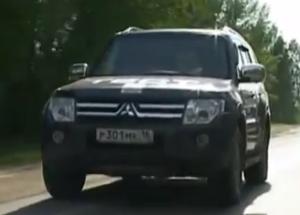 Тест Драйв Mitsubishi Pajero 4 (видео)