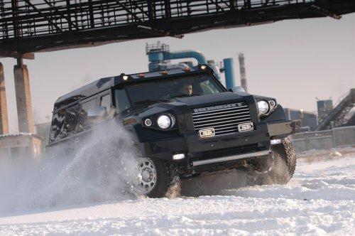 Комбат Т-98 - российский танк на колесах
