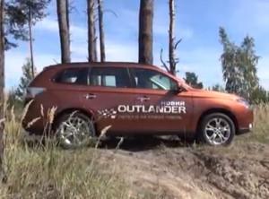 Видео-тест Mitsubishi Outlander 2012