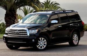 Бронированный внедорожник Toyota Sequoia