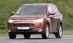 Mitsubishi Outlander 2012 (видео)