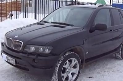 BMW X5 3.0 L (видео)