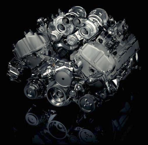 Двигатель BMW-X5M