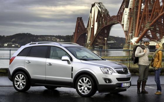 Новый Opel Antara 2012
