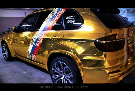 BMW X5M – спортивный кроссовер