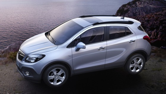 Компактный кроссовер Opel Mokka