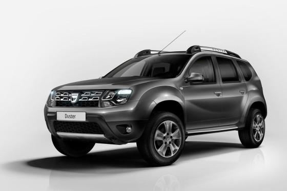 Рестайлинговый Dacia Duster 2014