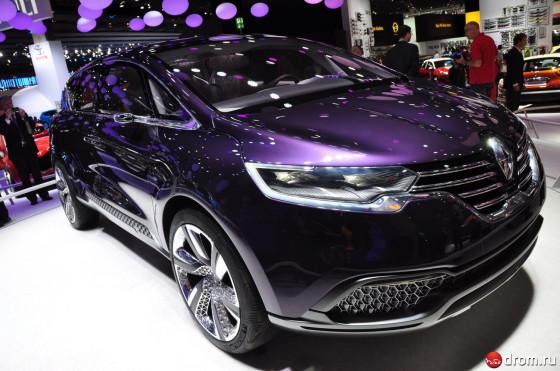 Renault Initiale Paris - концептуальный премиум кроссовер