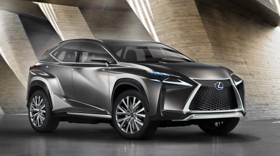 Lexus LF-NX - концептуальный кроссовер