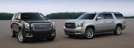 Новые внедорожники GM