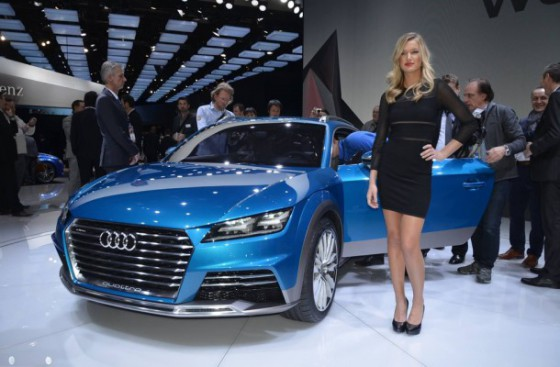 Audi Allroad Shooting Brake 2014