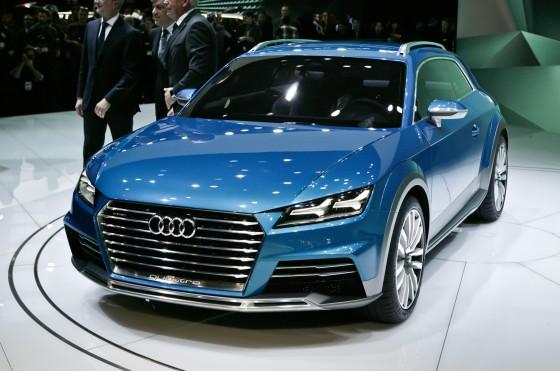 Кроссовер Audi Allroad Shooting Brake